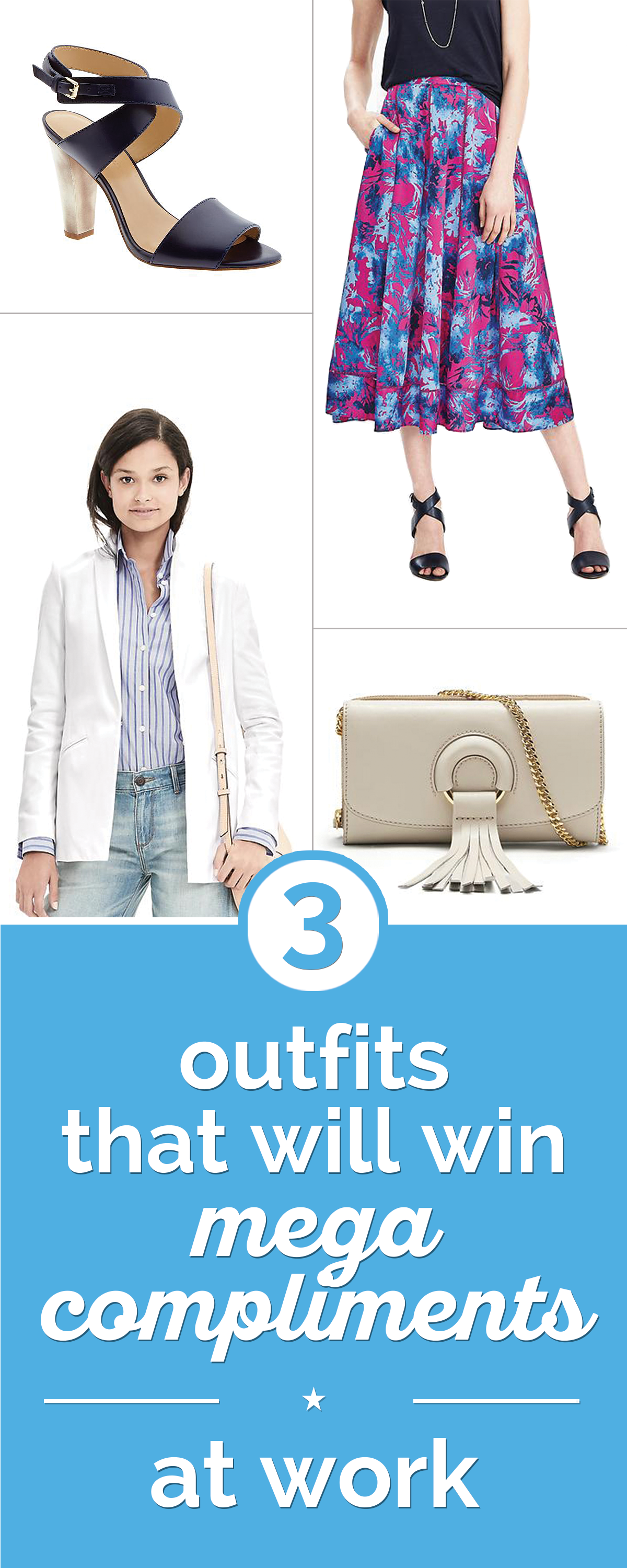 Three Outfits That Will Win Mega Compliments at Work | thegoodstuff