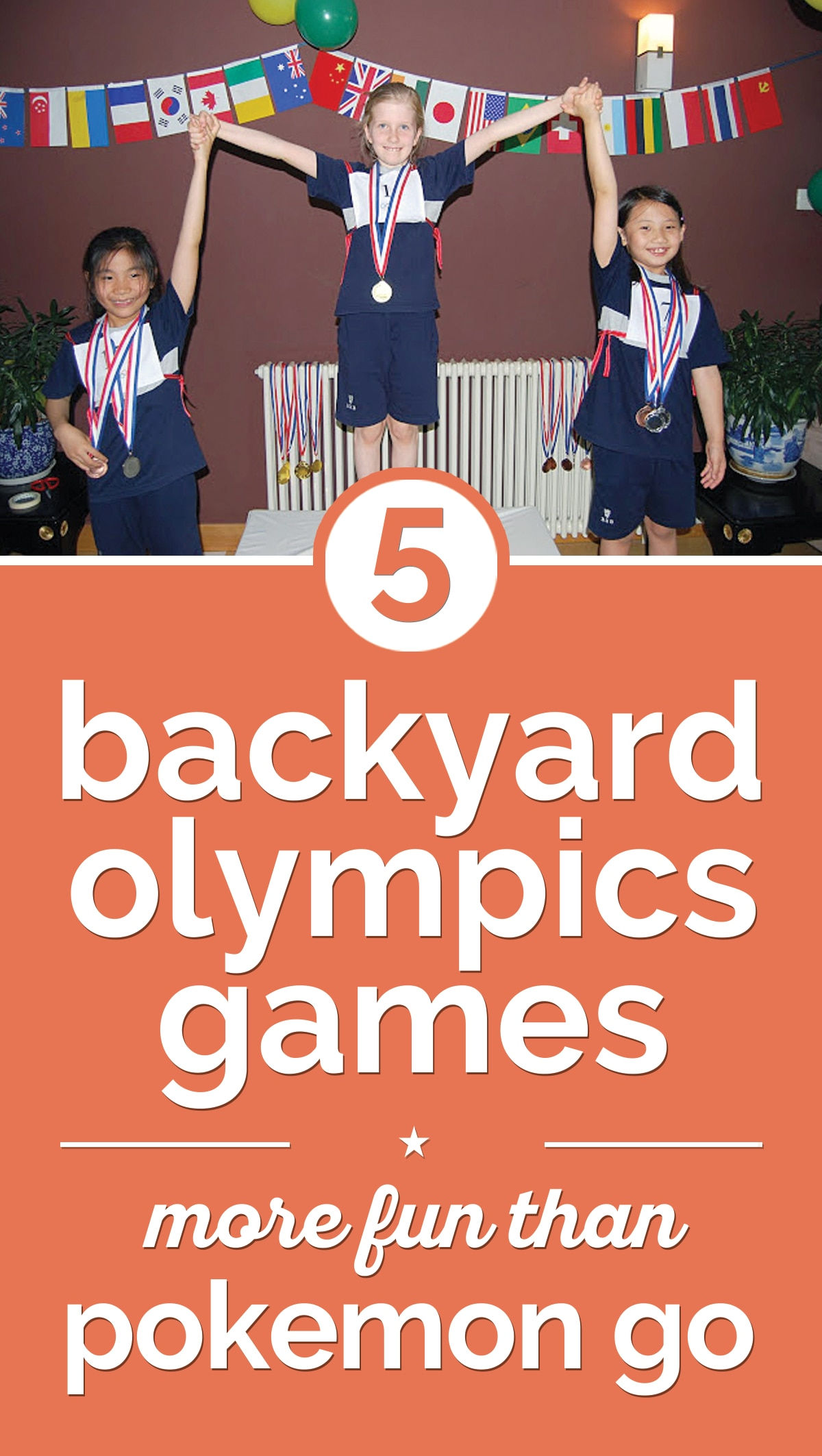 5 Backyard Olympics Games More Fun Than Pokemon Go | thegoodstuff