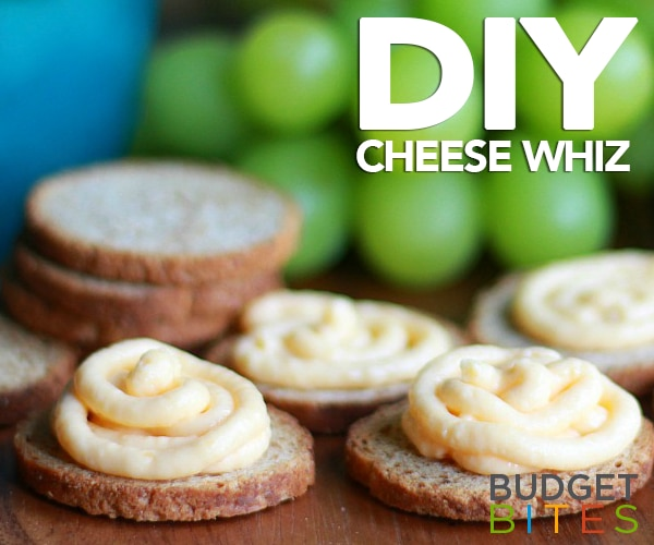 Budget Bites: Your Crackers Aren't Ready for This Cheese Whiz Recipe | thegoodstuff