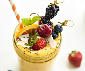 This Mango Milkshake Recipe Packs Mega Flavor [Recipe + Video] | thegoodstuff