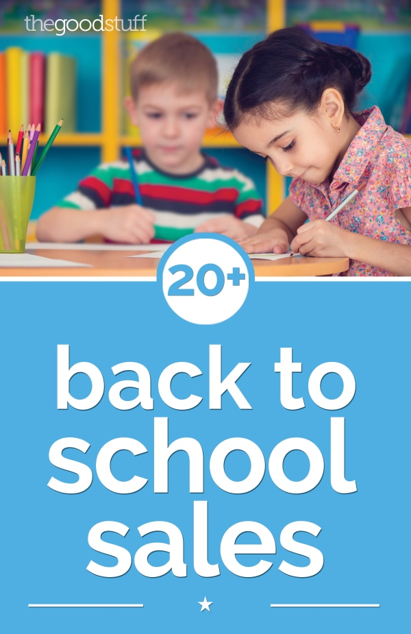 20+ Amazing Back to School Sales 2017 | Coupons.com