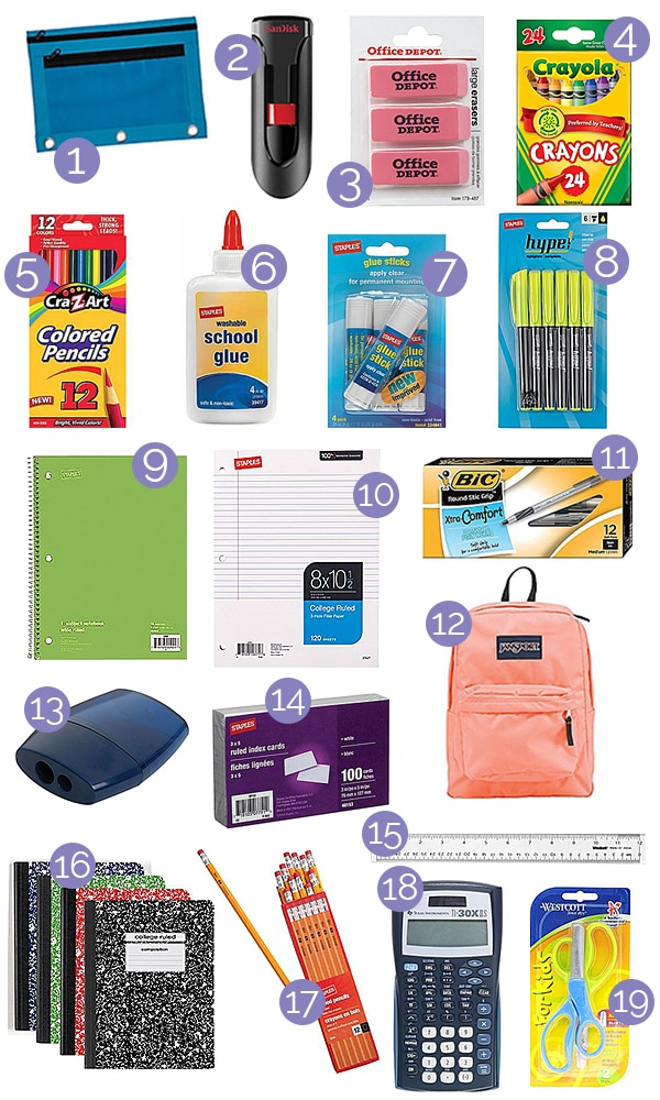 How to Do Your Back to School Shopping Online — Without Leaving Home! | thegoodstuff