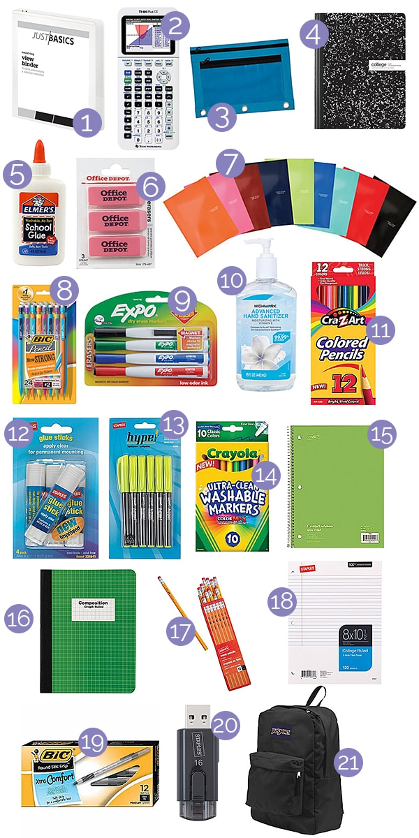 How to Do Your Back to School Shopping Without Leaving Home! | thegoodstuff