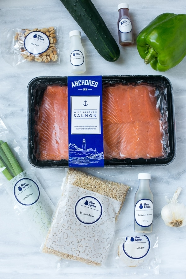Gourmet Food in a Flash: A Blue Apron Review | thegoodstuff