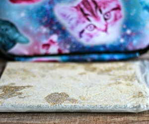 Make Your Lunch Sparkle With This Glittery DIY Ice Pack! [Video] | thegoodstuff