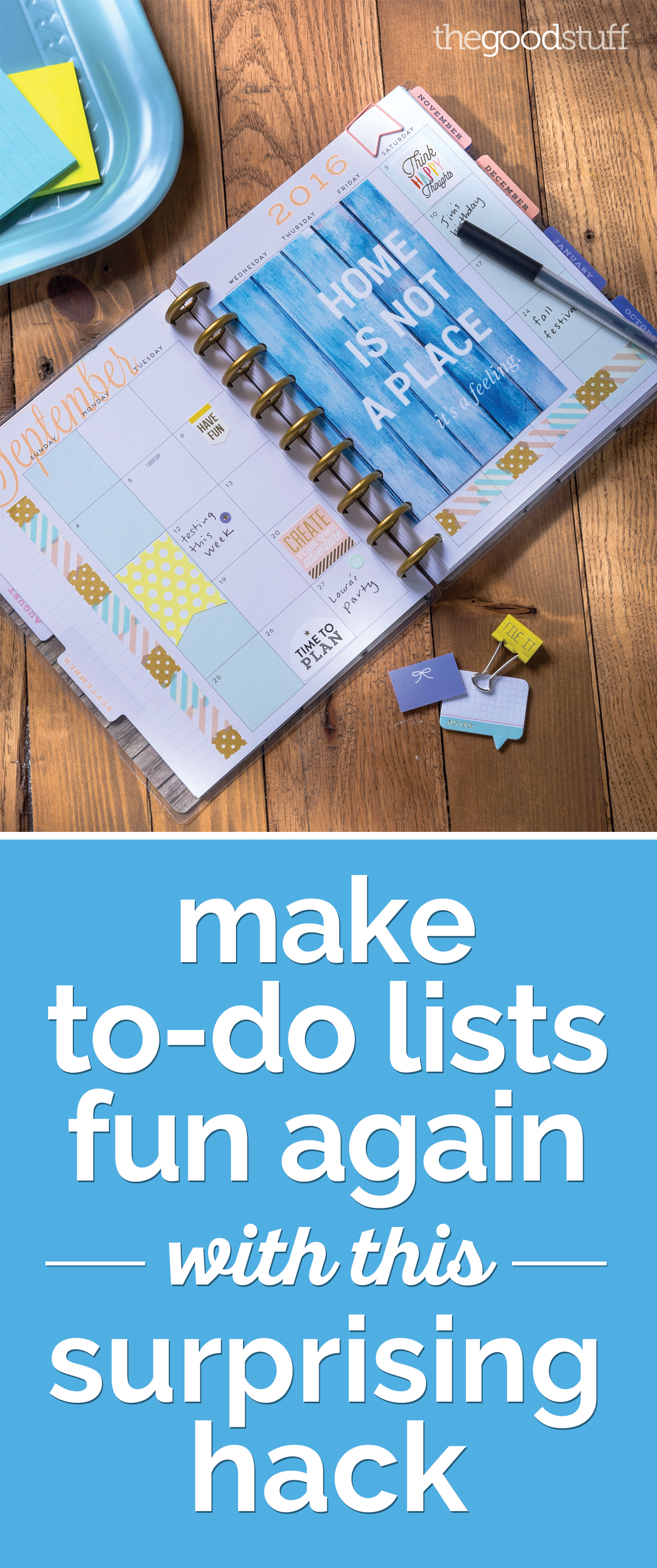 Make To-Do Lists Fun Again: A Happy Planner Guide | thegoodstuff
