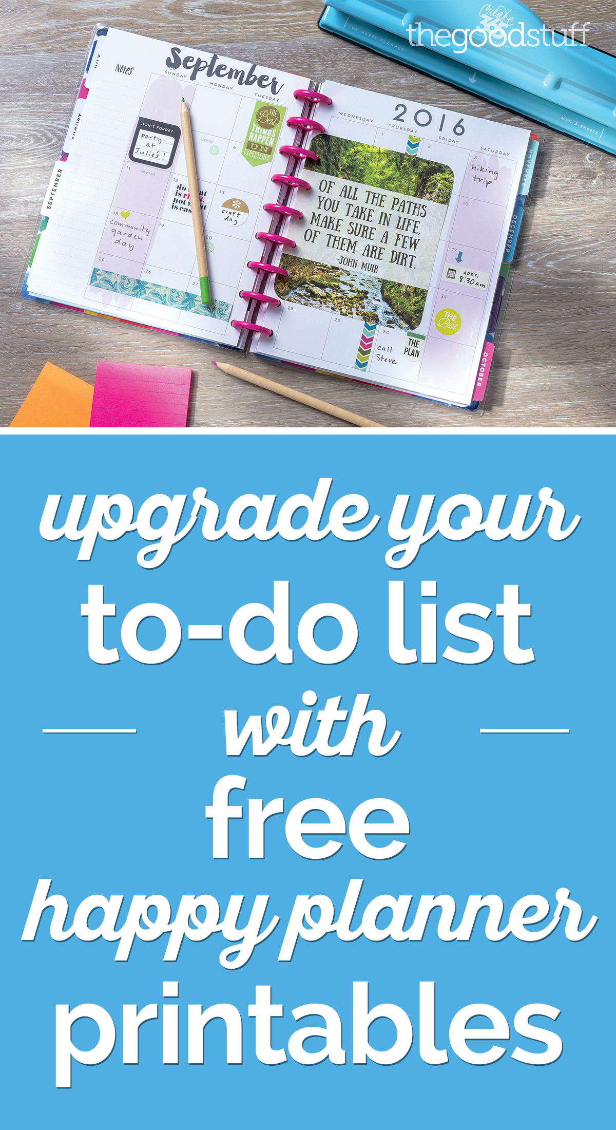 Upgrade Your To-Do List With Happy Planner Printables ...