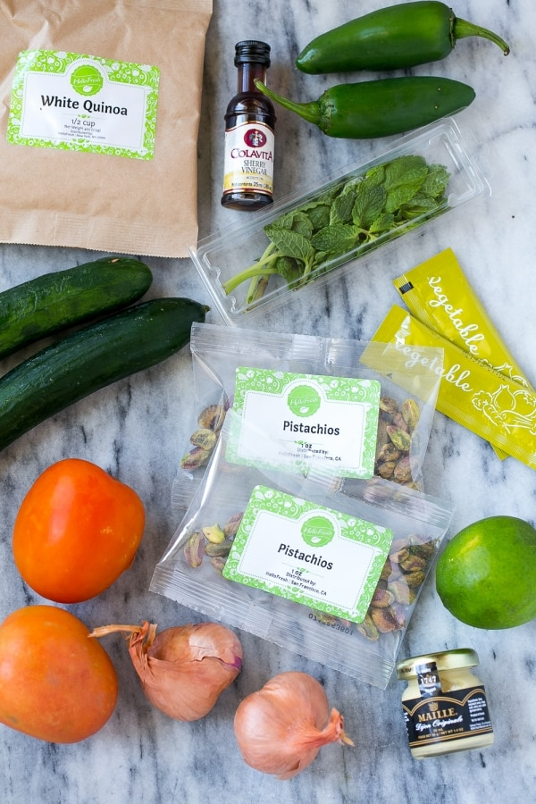 Meal Kit Delivery Service Colors Hellofresh