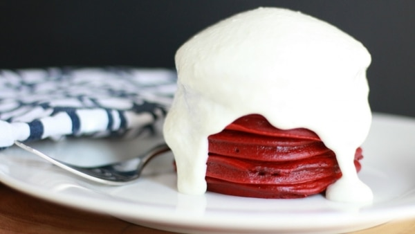 These Red Velvet Pancakes Are Life Changing! [Recipe] | thegoodstuff