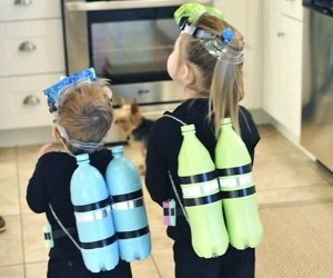 10 Easy DIY Halloween Costumes for Kids Anyone Can Make | thegoodstuff