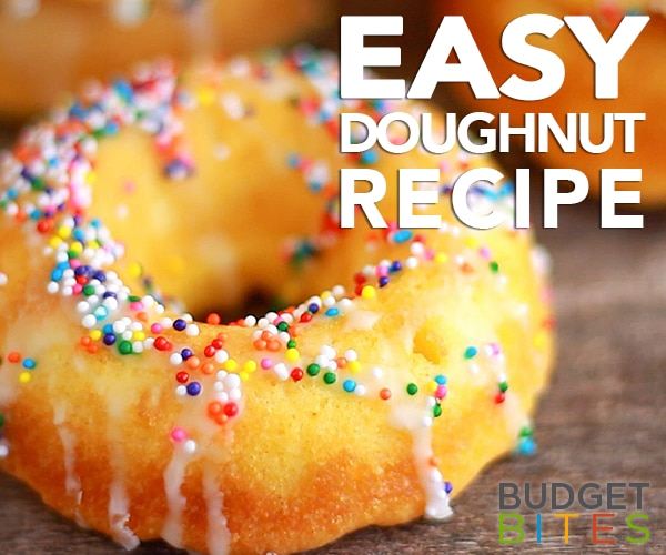 Coffee + This Easy Doughnut Recipe = Best Day Ever | thegoodstuff