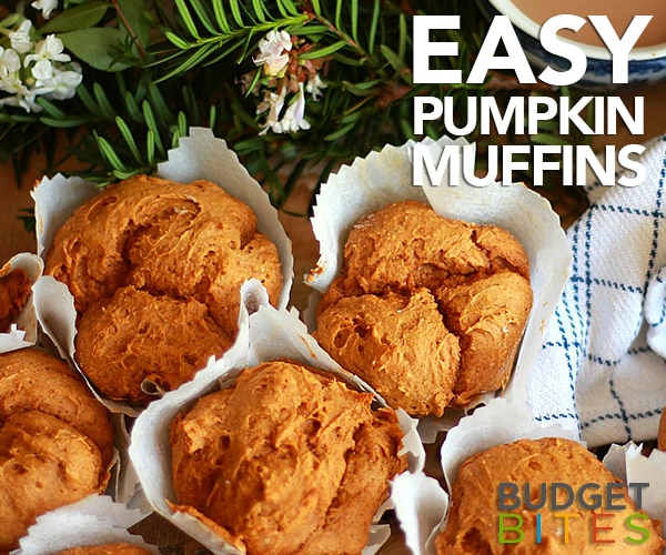 How to Make Easy Pumpkin Muffins With Cake Mix [Video] | thegoodstuff