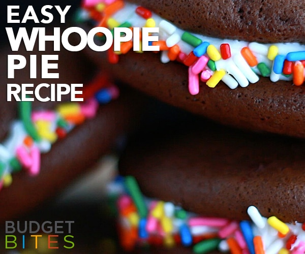 The Easiest Whoopie Pie Recipe You'll Ever Make | thegoodstuff