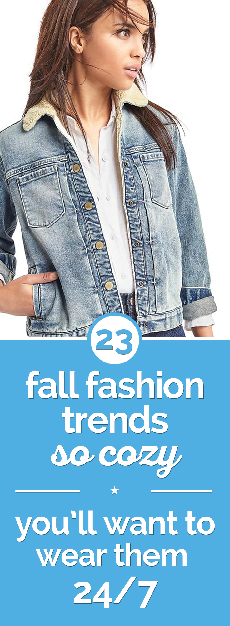 23 Fall Fashion Trends So Cozy You'll Want to Wear Them 24/7 | thegoodstuff