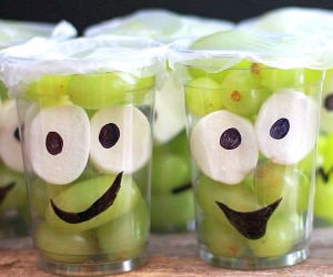 Make Them Smile With This Monster Fruit Cup Recipe! | thegoodstuff