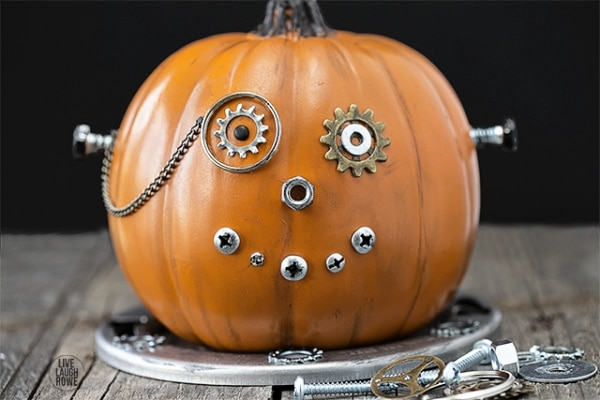 10 Pumpkin Decorating Ideas You Don't Need a Knife For   thegoodstuff