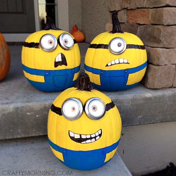 10 Pumpkin Decorating Ideas You Don't Need a Knife For | thegoodstuff