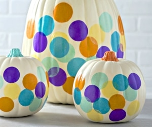 10 Pumpkin Decorating Ideas You Don't Need a Knife For
