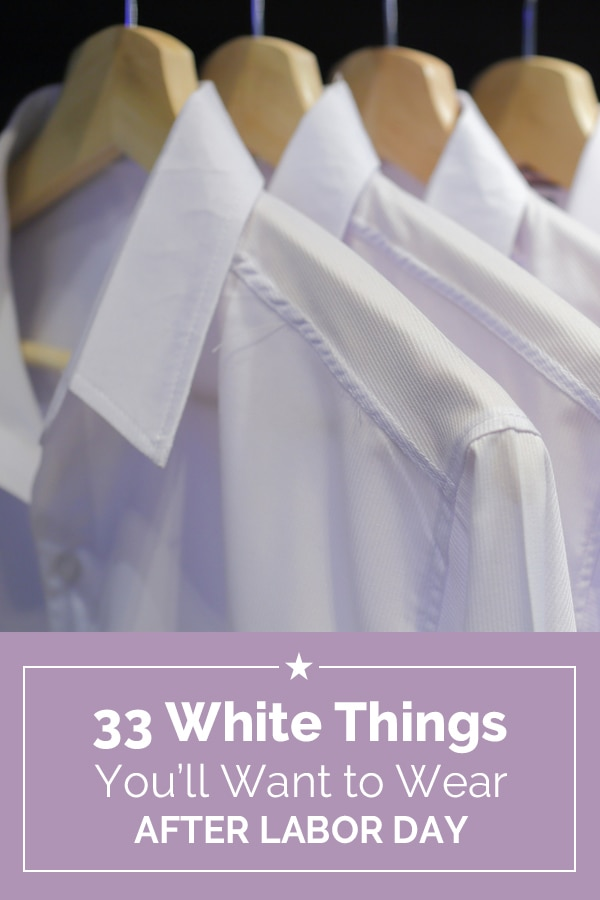 33 White Things You'll Want to Wear After Labor Day | Coupons.com