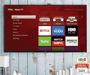 Deal of the Day: 33% Off VIZIO Smart HDTV + $250 eGift Card