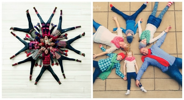 10 Family Christmas Photo Ideas that are Totally NOT Awkward | thegoodstuff