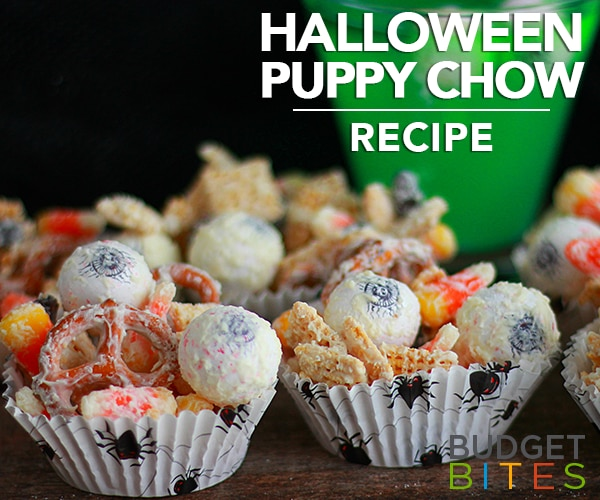 This Halloween Puppy Chow Recipe is Full of Spooky Surprises   thegoodstuff