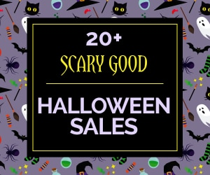 20+ Scary Good Halloween Sales 2016 | thegoodstuff