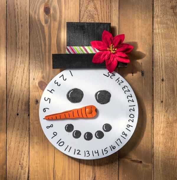 How to Make This DIY Snowman Advent Calendar | thegoodstuff