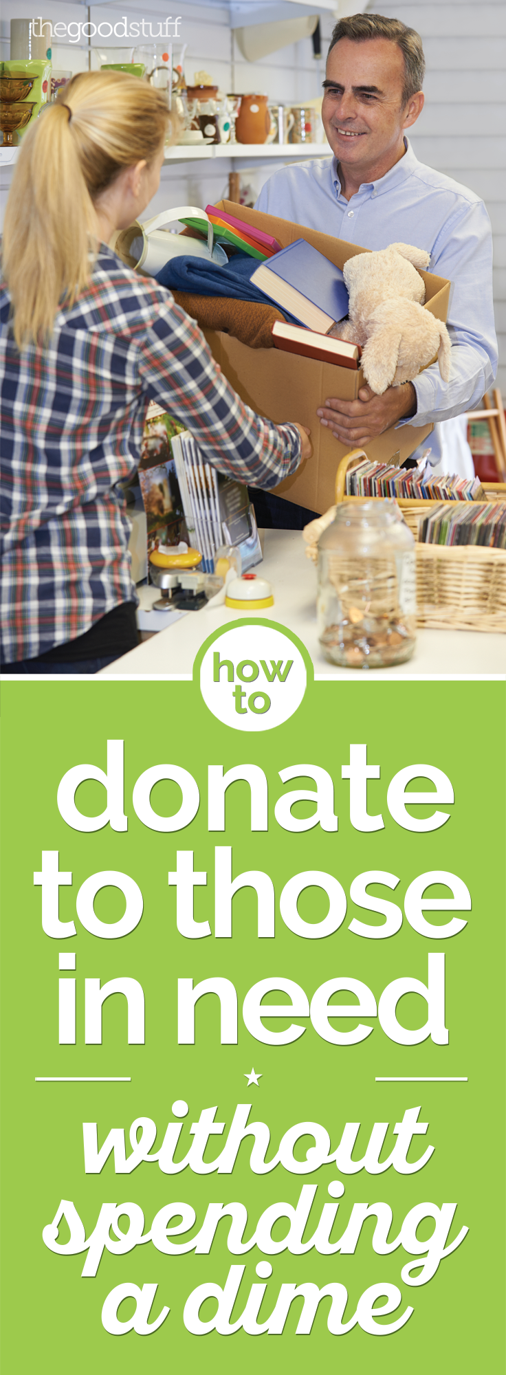 How to Donate to Those in Need Without Spending a Dime | thegoodstuff