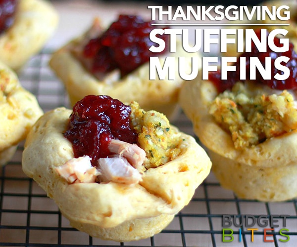These Thanksgiving Stuffing Muffins Are Perfect for Leftovers! | thegoodstuff