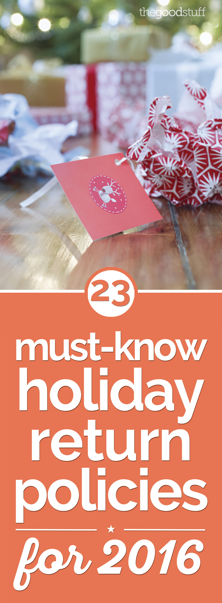 23 Must-Know Holiday Return Policies for 2016