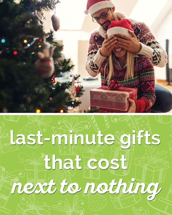 last minute christmas gifts that cost next to nothing thegoodstuff