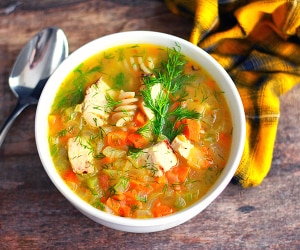 The Best Chicken Noodle Soup to Cozy up With on a Sick Day | thegoodstuff