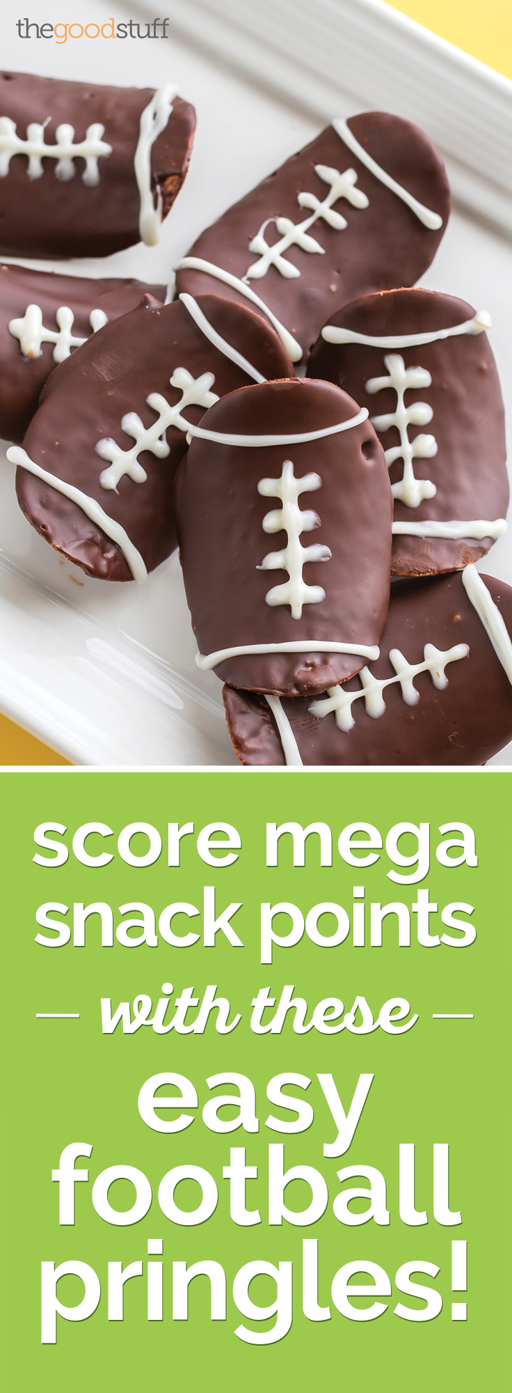 Score Mega Snack Points with These Easy Football Pringles! | thegoodstuff