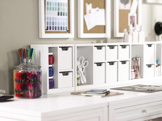 Customize Your Crafting With The Martha Stewart Living™ Craft Space  Collection, Featuring Cubby Organizers ($24), Cubby Drawers ($6), And  Ribbon Drawers ... Part 82