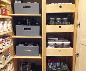 How to Organize a Pantry for Less than $50 | thegoodstuff