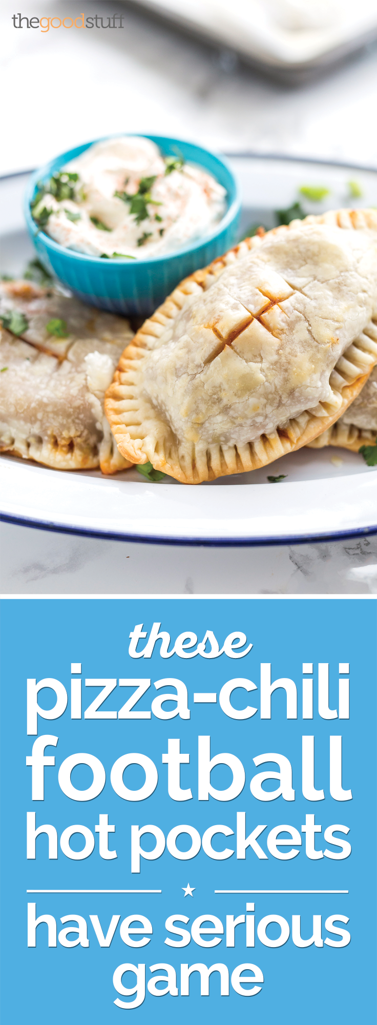 These Pizza-Chili Football Hot Pockets Have Serious Game | thegoodstuff
