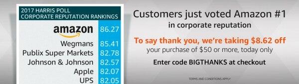 Amazon Coupon Bigthanks   thegoodstuff