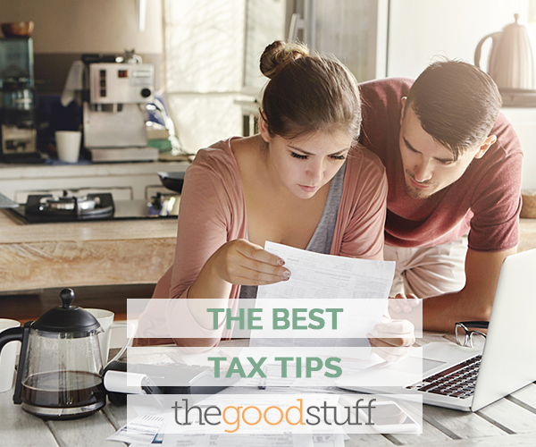 Best Tax Deductions & Other Tax Tips | thegoodstuff