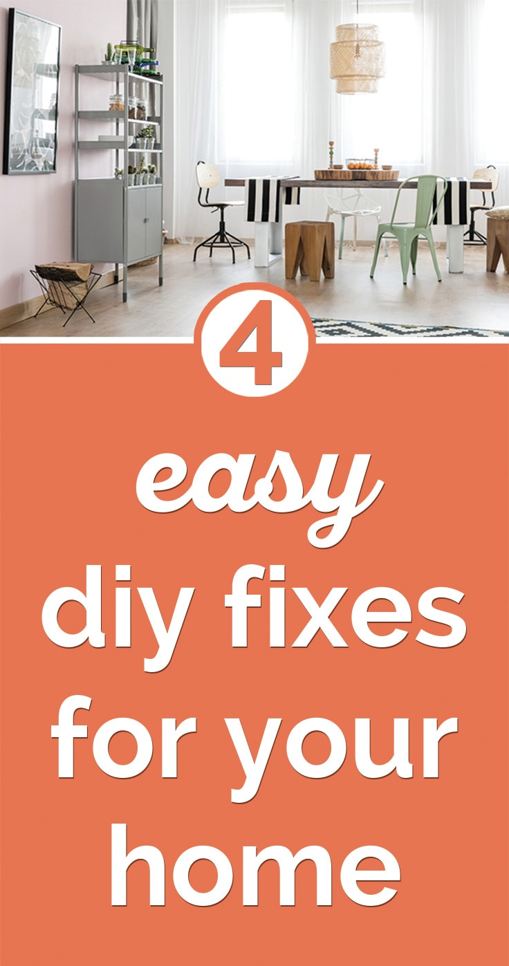 4 Easy DIY Fixes for Your Home | Coupons.com