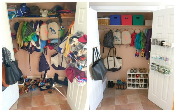 How To Organize Your Mudroom Closet