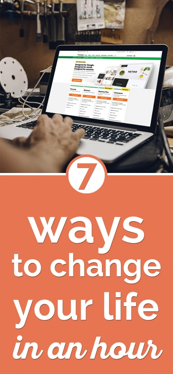 7 Things You Can Do to Change Your Life in an Hour | Coupons.com