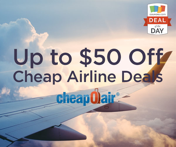 Deal Of The Day Up To 50 Off At CheapOair