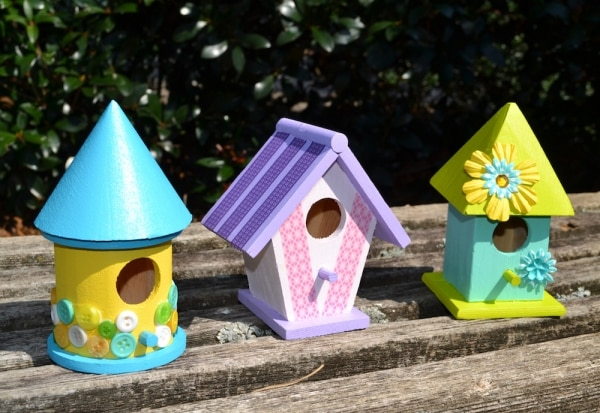 DIY Birdhouse Craft for Kids | thegoodstuff