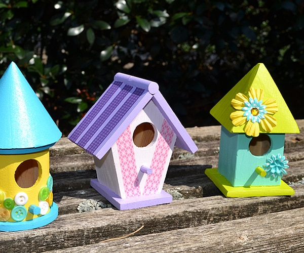 How To Make A Spring DIY Birdhouse Craft For Kids