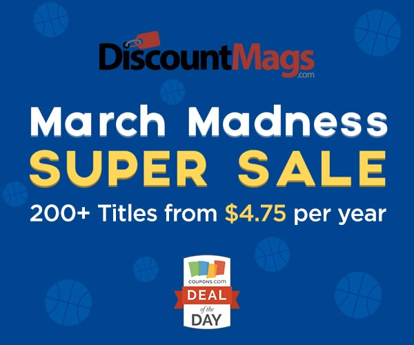 Get the best DiscountMags deals November See all DiscountMags sales at DealsPlus.
