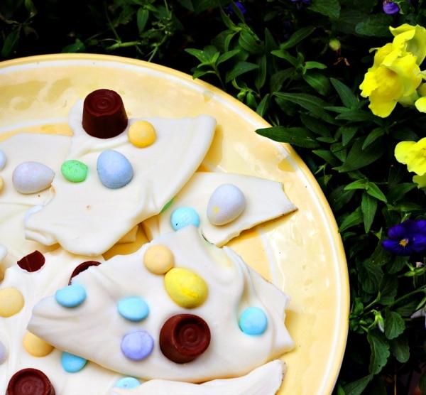 Easter Candy Bark Recipe | thegoodstuff
