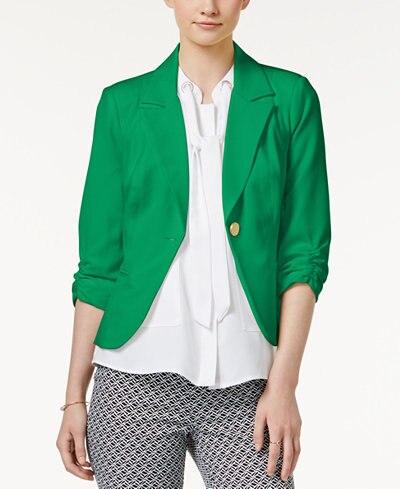 Green Blazer | thegoodstuff