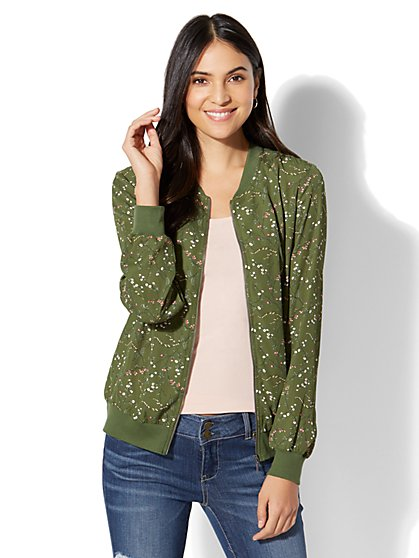 Olive Green Jacket Women's | thegoodstuff