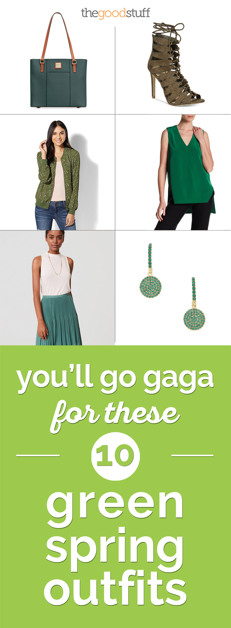 Green Spring Outfits | thegoodstuff